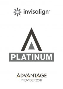 We are a platinum provider of Invisalign.