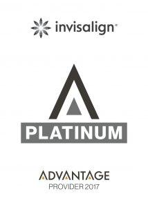 We are a platinum provider of Invisalign.
